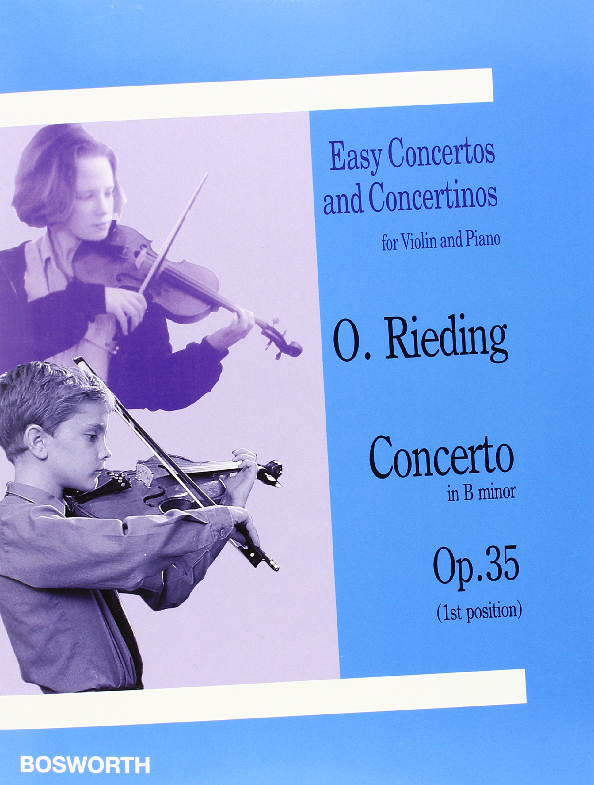 Concerto in B Minor, Op. 35: Easy Concertos and Concertinos Series for Violin and Piano (Easy Concertos and Concertinos for Violin and Piano)