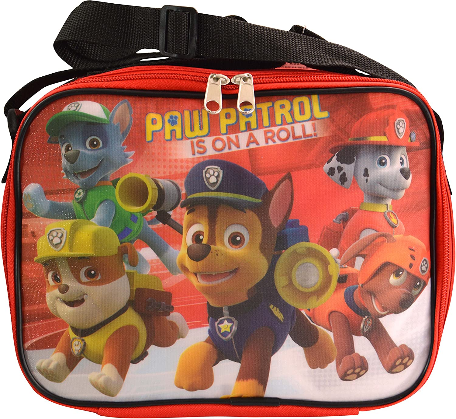 Insulated Paw Patrol Soft Lunch Box Bag School Marshall Chase Rubble Nick Jr