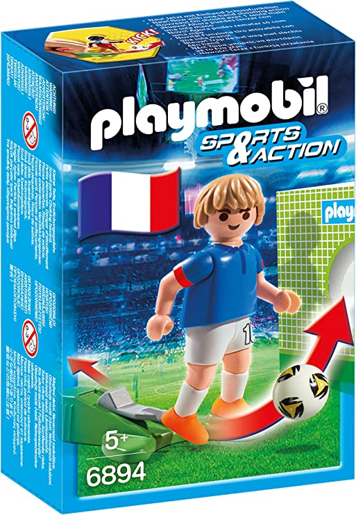 PLAYMOBIL - Futbolista Francia (68940): Amazon.es: Juguetes y juegos