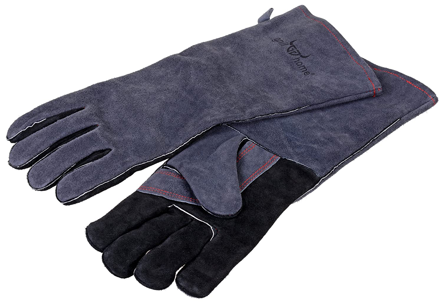 long genuine leather Graewe barbecue gloves