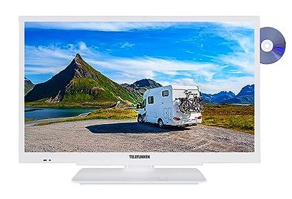 c097b36da4 Telefunken XH24G101VD-W 61 cm (24 Zoll) Fernseher (HD-ready, Triple ...