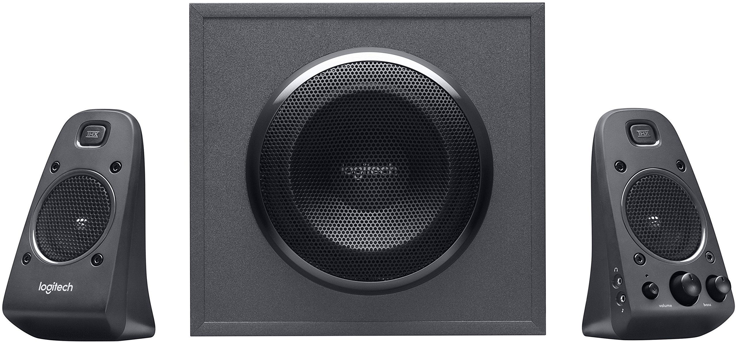 Logitech Z625 Powerful THX Sound 2.1 Speaker System for TVs, Game Consoles and Computers by Logitech