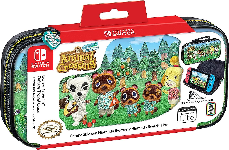 Ardistel - NSW & LITE Game Traveler Deluxe Travel Case NNS39AC Animal Crossing (Nintendo Switch): Amazon.es: Videojuegos