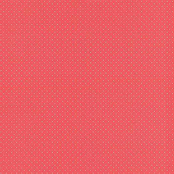 Sfondo rosso pois bianchi