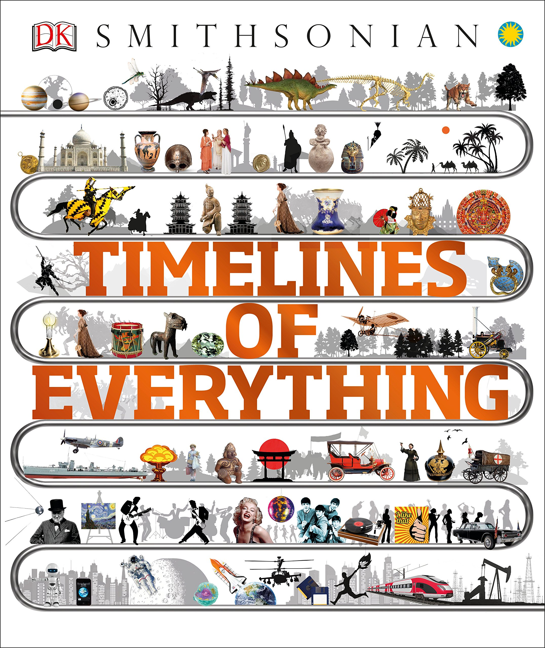 timelines of everything dk 9781465474933 amazon com books