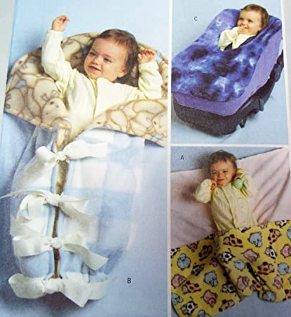 Amazon Com Baby Infant Wrap Bunting Car Seat Cover Butterick B4416