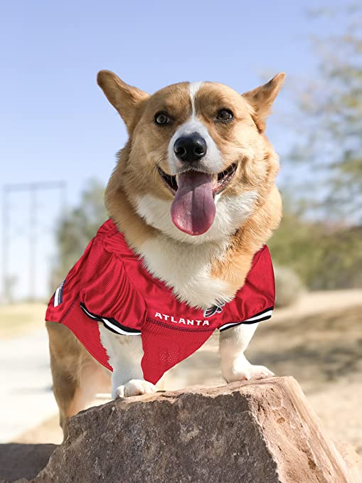 huge selection of 54ef8 f9234 NFL PET Jersey. Most Comfortable Football Licensed Dog Jersey. 32 NFL Teams  Available in 7 Sizes. Football Jersey for Dogs, Cats & Animals. - Sports ...
