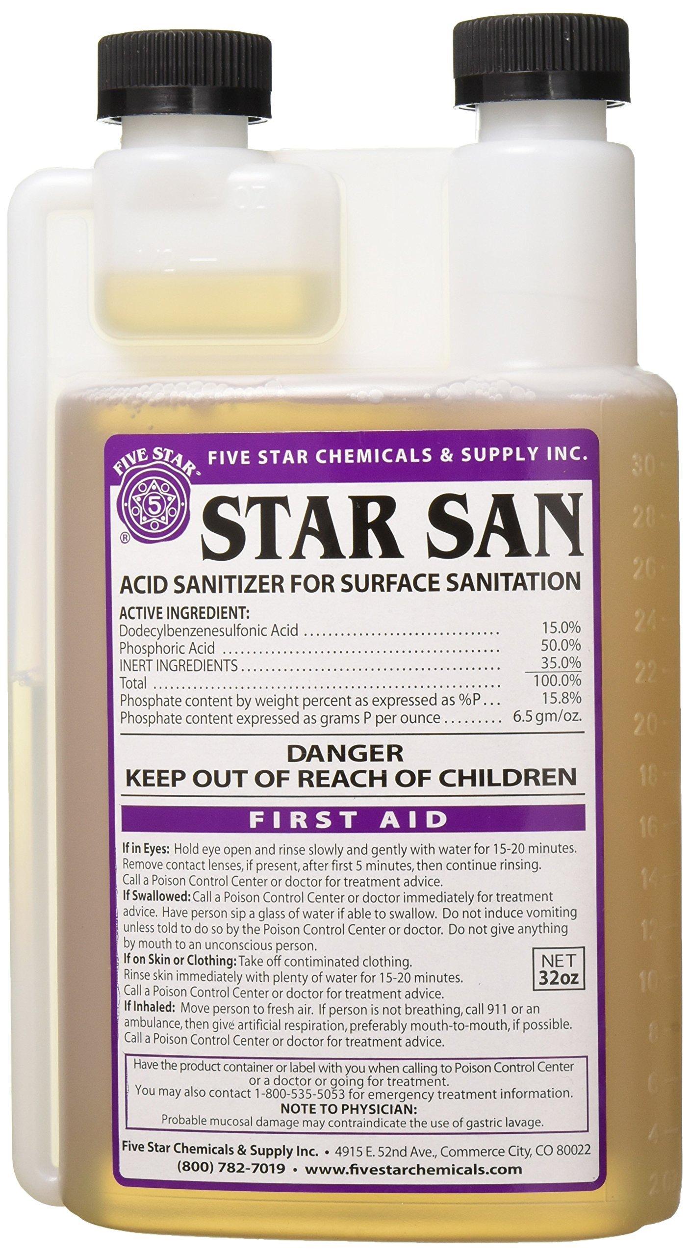 Five star Star San 32oz by Five Star