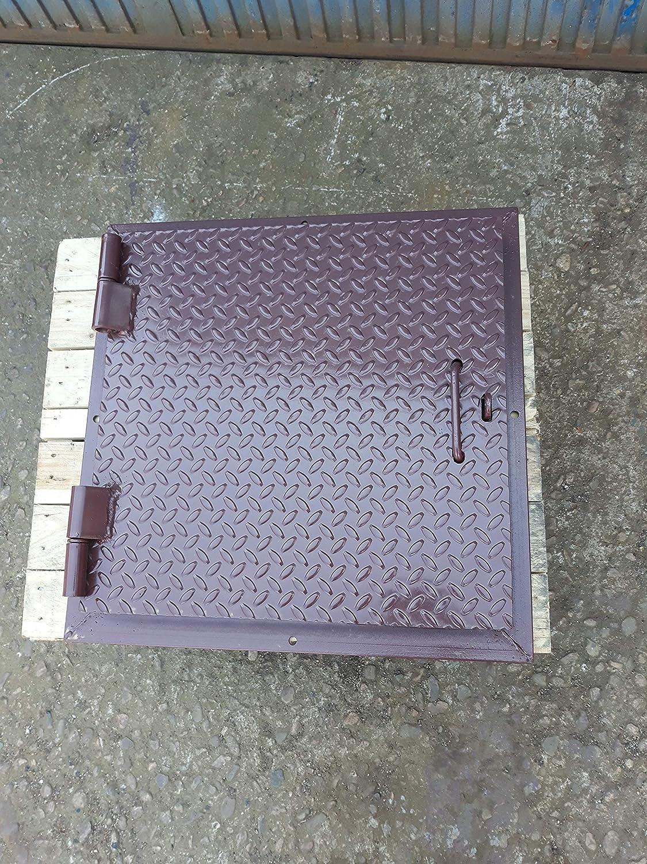 Tapa pozo de 61 cm. exterior. 51x51 cm. de paso interior