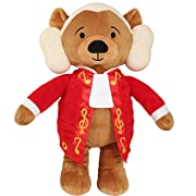 Vosego Amadeus Mozart Virtuoso Bear   40 mins Classical Music for Babies   15″ Award Winning Musical Soft Toy   Educational Toy for Infants Kids Adults