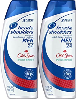 2-Pack Old Spice Pure Sport Dandruff Shampoo and Conditioner