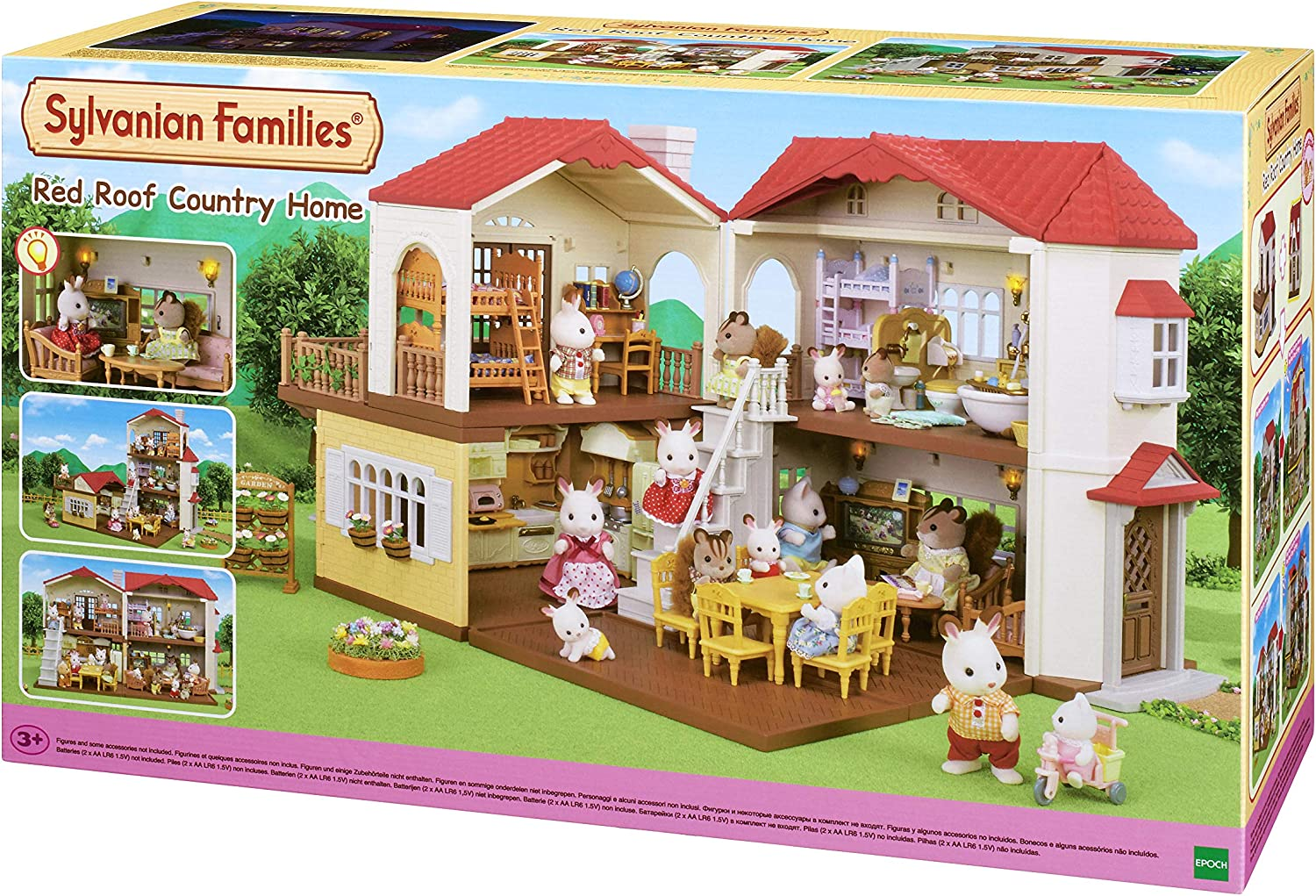 Sylvanian Families 5480 Red Roof Country Home