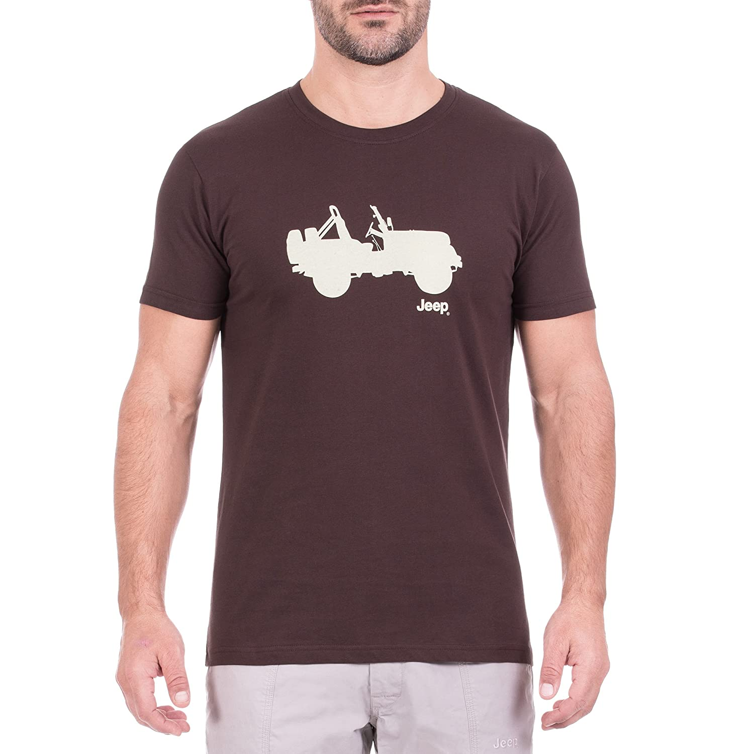 Jeep Men's T-Shirt Side Willys J8s Trerè Innovation S.r.l. Unipersonale de sporting goods TRMHD