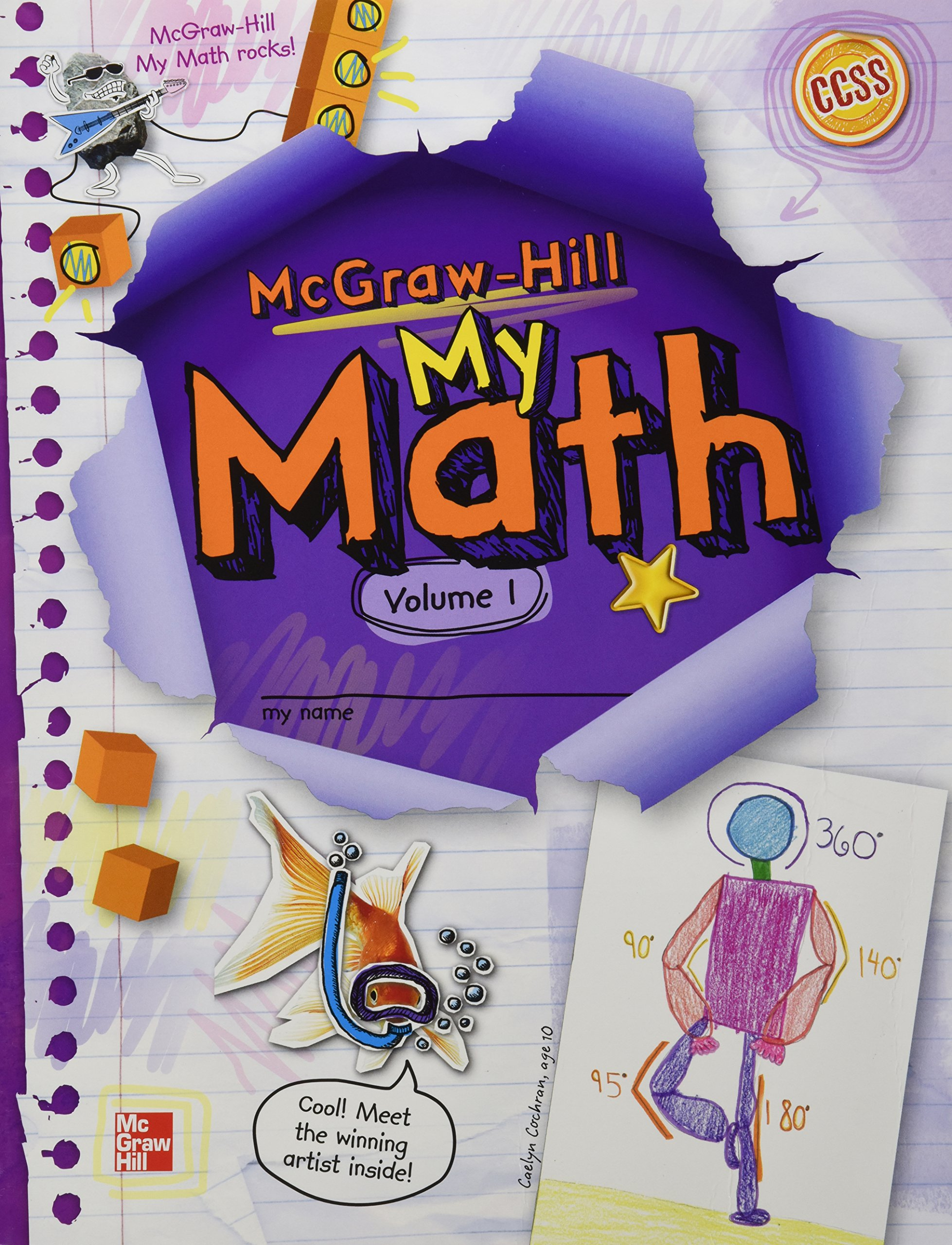 McGraw-Hill My Math, Grade 5, Student Edition, Volume 1: McGraw-Hill ...