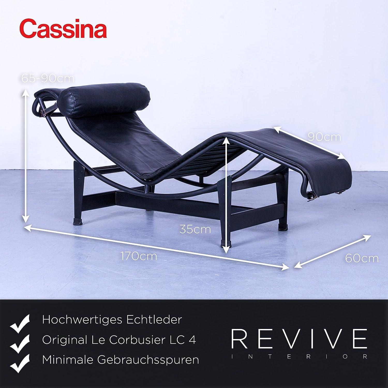 Cassina Le Corbusier LC 4 Designer Sessel Schwarz Einsitzer ...