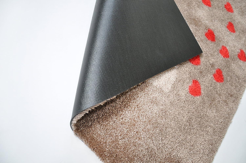 LifeStyle-Mat Designer Fussmatte Küche – Fussmatten Rutschfest und und und waschbar – Schmutzfangmatte - Fussabstreifer – BRAUN 67x110cm B0112J8Q8U Teppiche b756f4