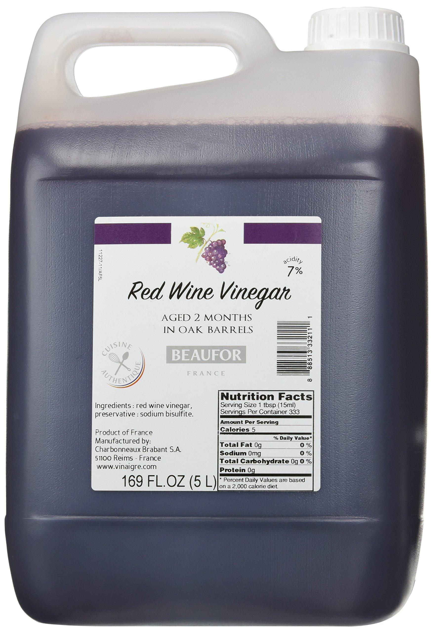 Beaufor Red Wine Vinegar 5 liter
