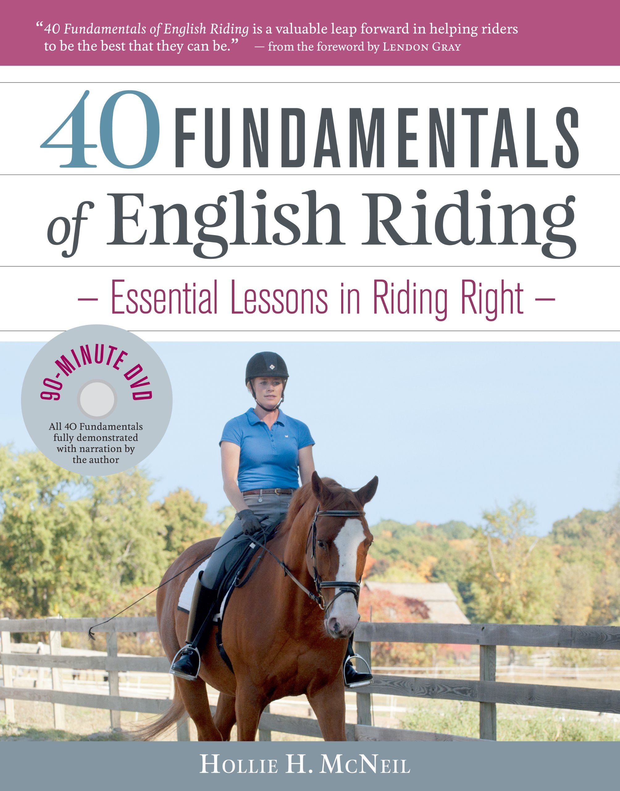 40 fundamentals of english riding essential lessons in riding