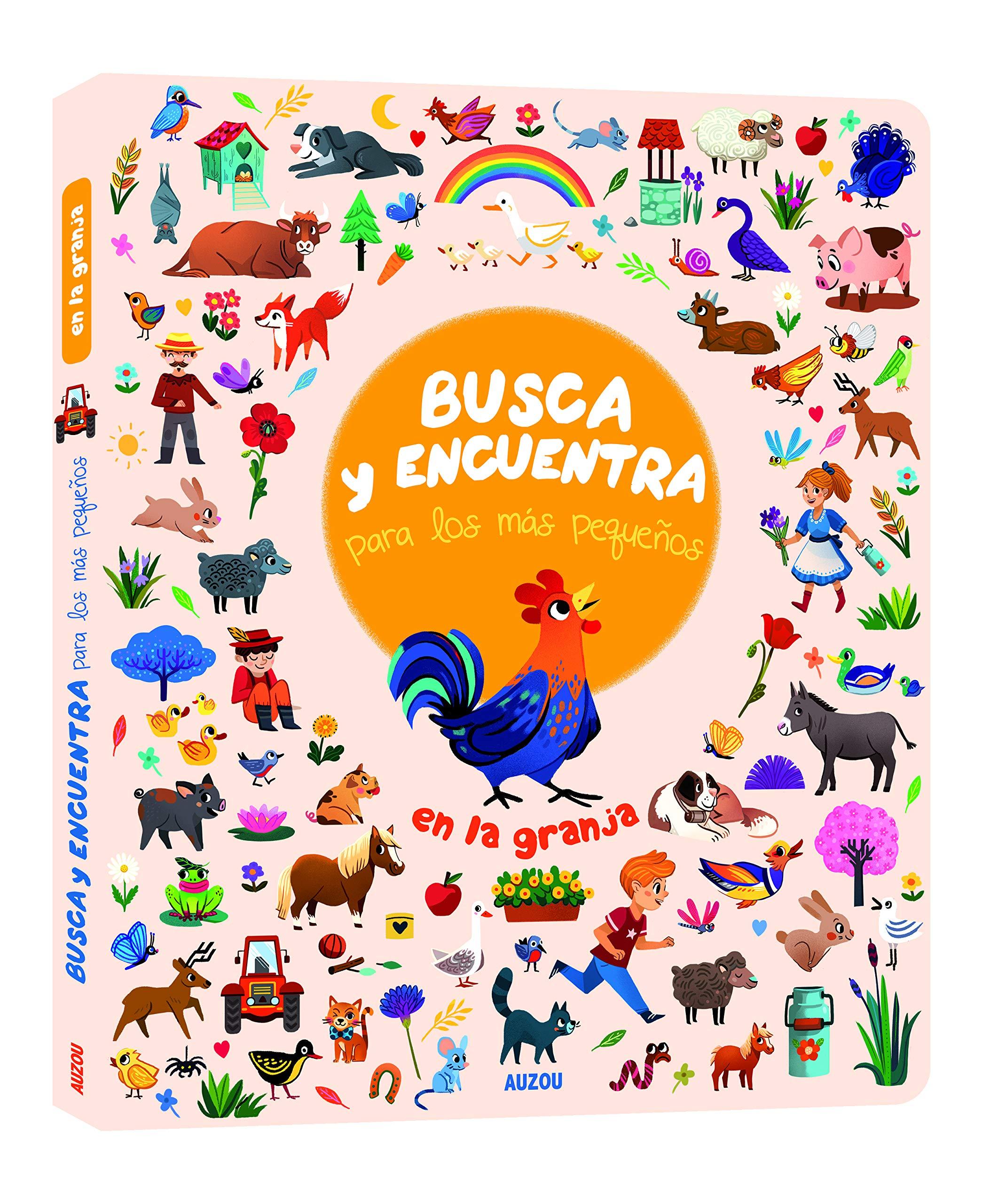 Busca Y Encuentra Para Los Más Pequeños En La Granja Amazon Es Guittard Florencess Guittard Florencess Libros