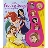 Disney Princess Belle, Mulan, and More! - Princess Songs Around the World Sound Book - PI Kids (Play-A-Song)