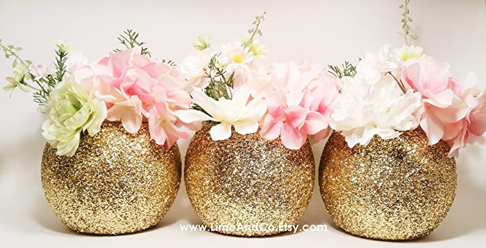 Amazon Wedding Centerpiece Set Of 3 Bridal Shower Decorations
