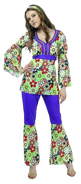 Reír Y Confeti - Fibhip016 - Para adultos traje - Hippie ...