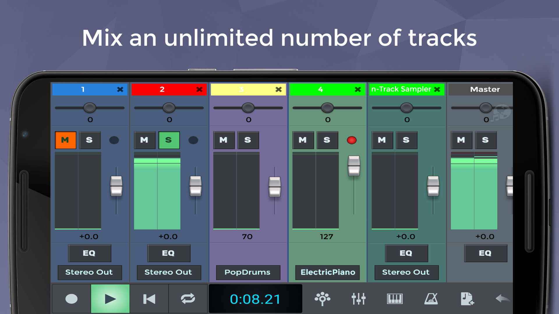Amazon com: n-Track Studio 9 Pro DAW: Appstore for Android