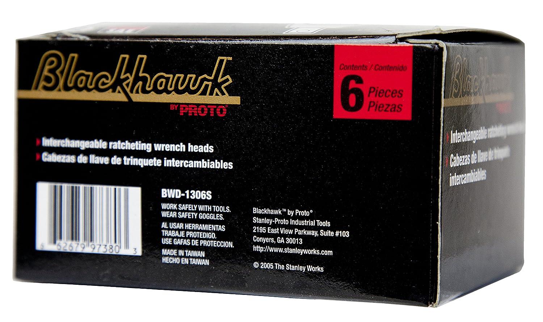 Blackhawk by Proto Racheting Box Wrench Head Set, 6 Pc. SAE, BWD-1306S - Socket Wrenches - Amazon.com