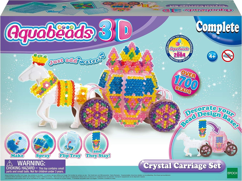 Aquabeads - Set carruaje de cristal en 3D (Epoch 31363): Amazon.es: Juguetes y juegos