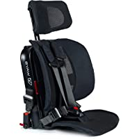 WAYB Pico Travel Car Seat, Black - Portable and Foldable Forward-Facing Only Convertible Car Seat for Everyday, Carpool, Rideshare and Airplane