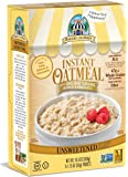 Bakery On Main Gluten-Free, Non-GMO Ancient Grains Instant Oatmeal, Traditional Unsweetened, 10.5 Ounce/6 Count Box (Pack of 3)