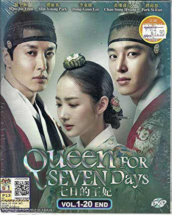 Amazon com: QUEEN FOR SEVEN DAYS - COMPLETE KOREAN TV SERIES