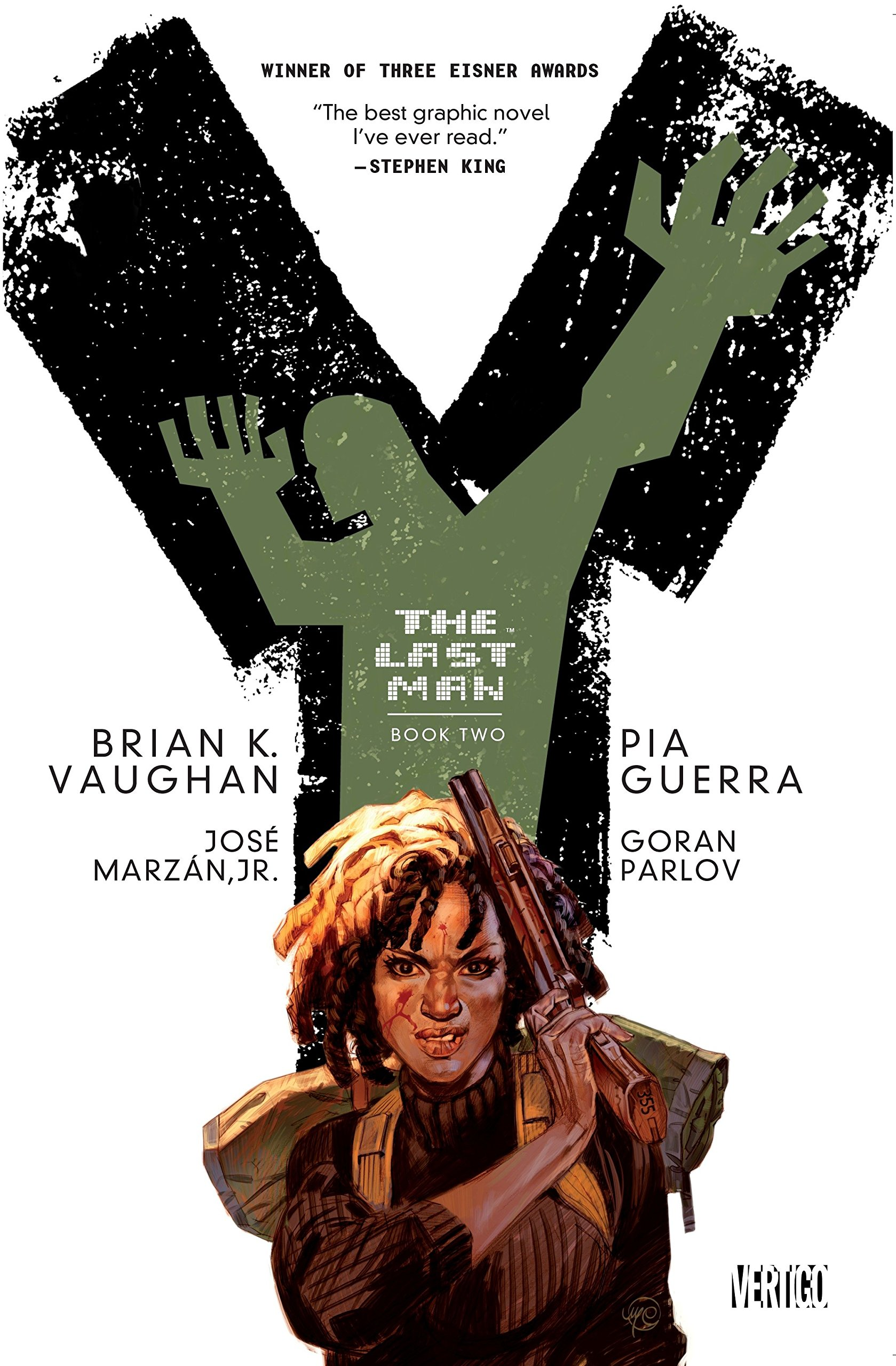 Y: The Last Man Book Two: Brian K. Vaughan, Pia Guerra: 9781401254391:  Amazon.com: Books