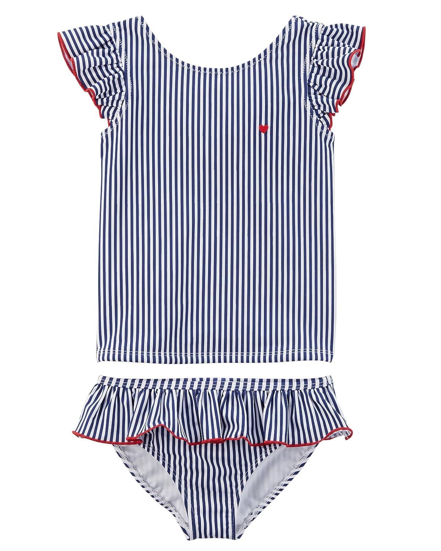 Carter's Baby Girls' 2 Piece Rashguard Swim Set Carters