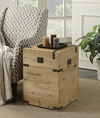 Exceptionnel Convenience Concepts Laredo Trunk End Table, Natural