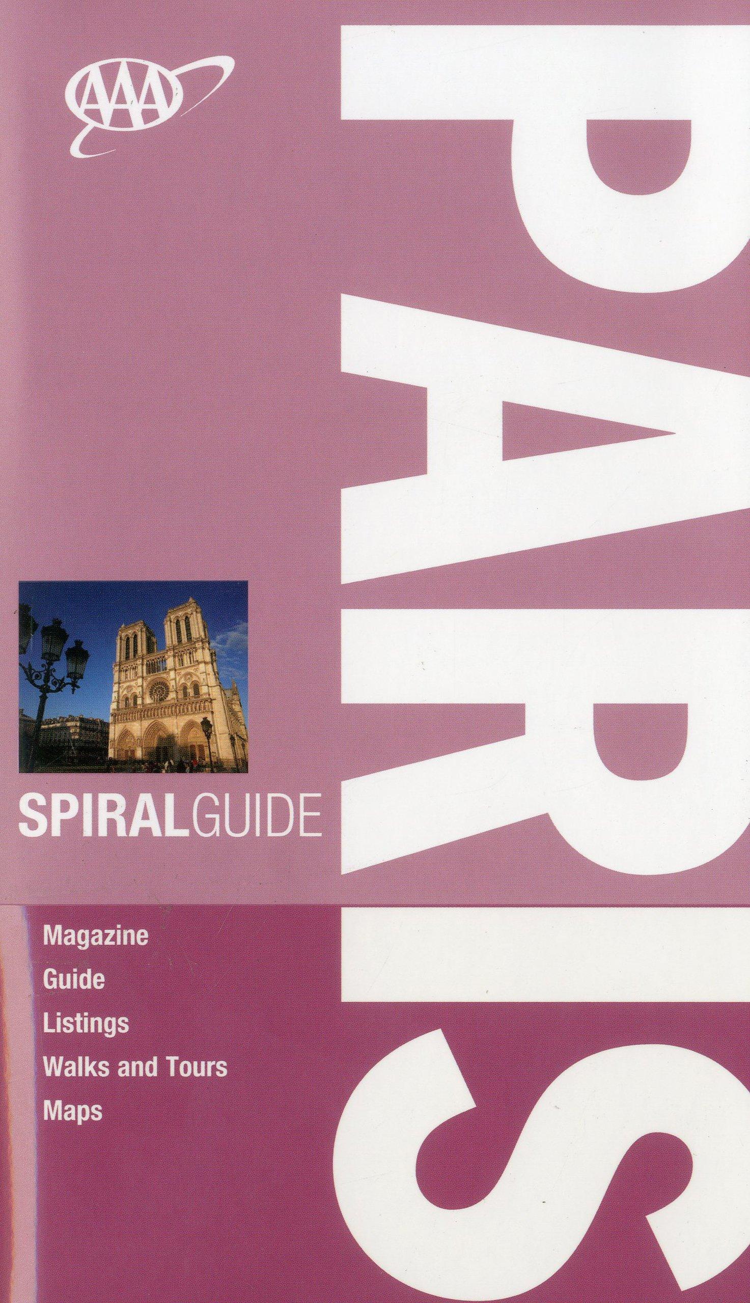 AAA Spiral Paris (AAA Spiral Guides) ebook