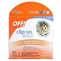 OFF! Clip-On Mosquito Repellent Refill, Works on All OFF! Brand Clip-On Repellent...
