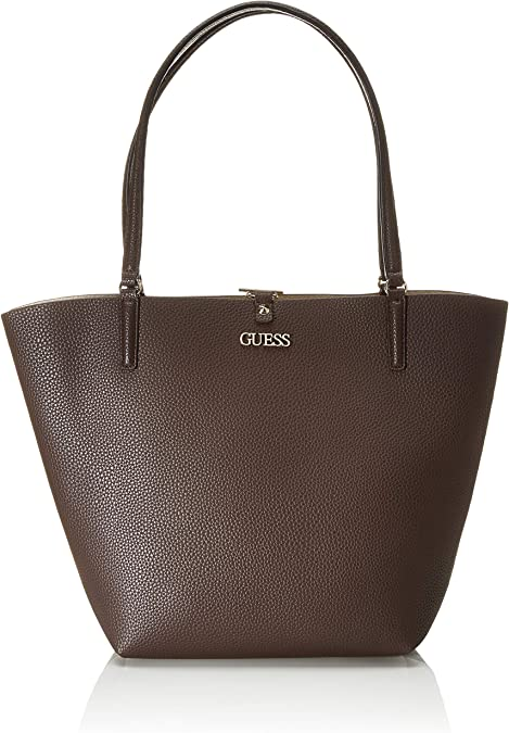 Donna: Shopper Reversibile Alby Guess CUOIO U