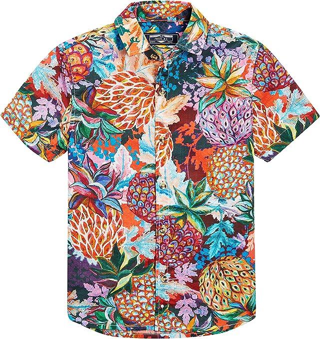 next Niños Camisa De Manga Corta con Estampado De Piñas (3-16 Años) Multicolor 16 años: Amazon.es: Ropa y accesorios