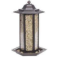 Perky-Pet 366 Birdscapes Tall Tulip Garden Lantern Feeder, 6 lbs., Colors May Vary