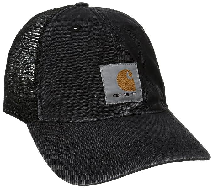 84e4092ac67 Amazon.com  Carhartt Men s Buffalo Sandstone Meshback Cap  Clothing
