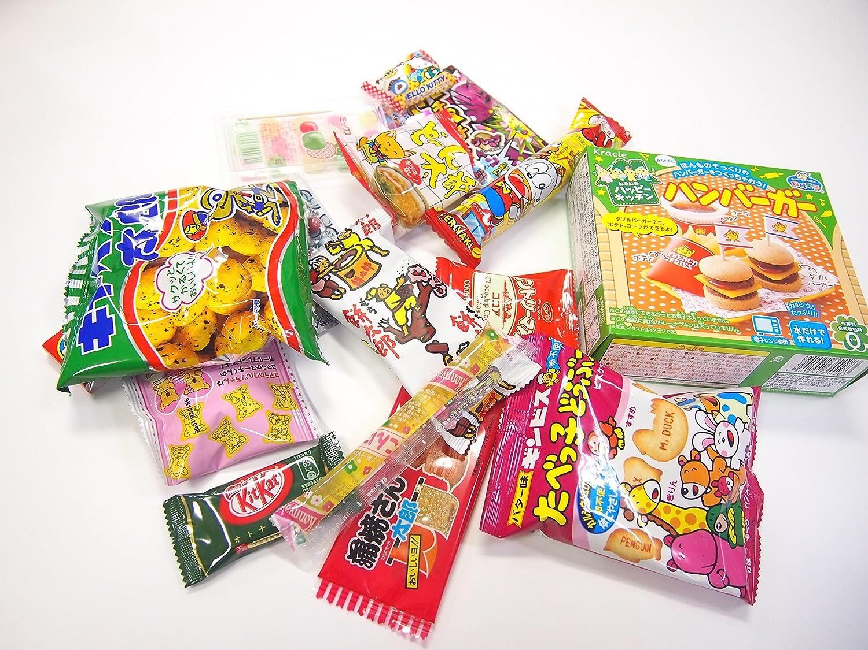 16 Japanese Candy and Snack Okashi Set with original Japanese ...