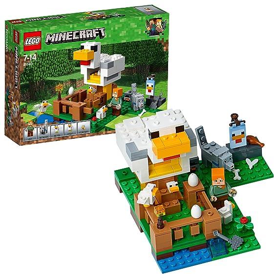LEGO Minecraft 21140 - Hühnerstall, Unterhaltungsspielzeug