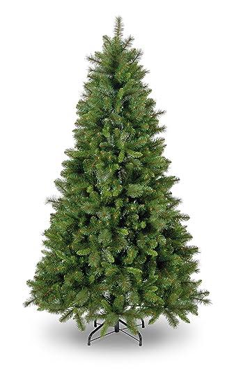 Weihnachtsbilder Tannenzweig.Snowtime Ct05074 Künstlicher Weihnachtsbaum Manitoba Spruce Aufklappbar Slim Tree 210 Cm