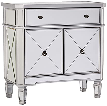 Bon Powell Mirrored 1 Drawer, 2 Door Console