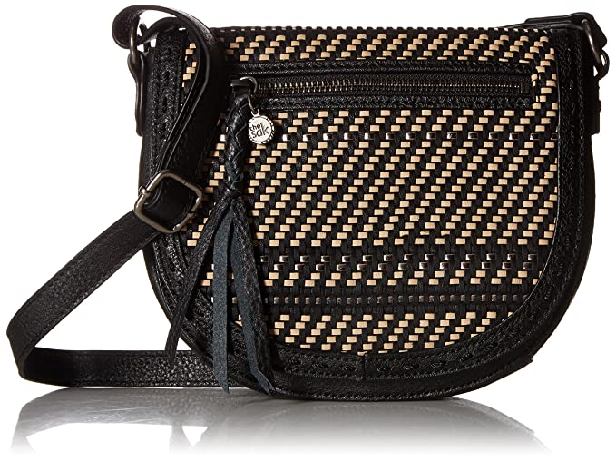 Amazon.com: the sak Ventura pequeño crossbody-woven, negro ...