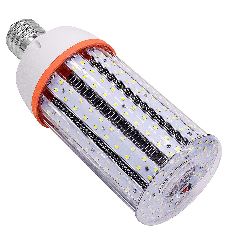 20W LED コーン型電球 屋内屋外用 標準 E26口金 2200Lm 4000K ピュアホワイト 街灯 体操 ガレージ 工場 倉庫用 ハイベイバーンポーチ 裏庭 ガーデン スーパーブライト シルバー B07M7VB2CC  60.0 Watts