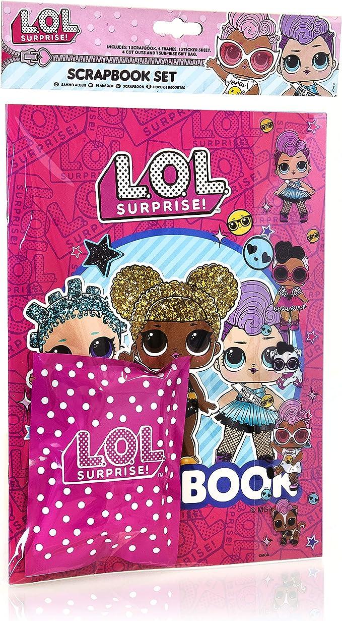 L.O.L. Surprise! Album De Recuerdos de Muñecas LOL Surprise | Juego de Manualidades DIY para Niñas Incluso Album De Recortes Scrapbooking, Pegatinas, Accesorios y Una Sorpresa | Regalos para Niñas: Amazon.es: Juguetes
