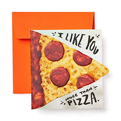 Image Unavailable Not Available For Color American Greetings Funny Pizza Greeting Card