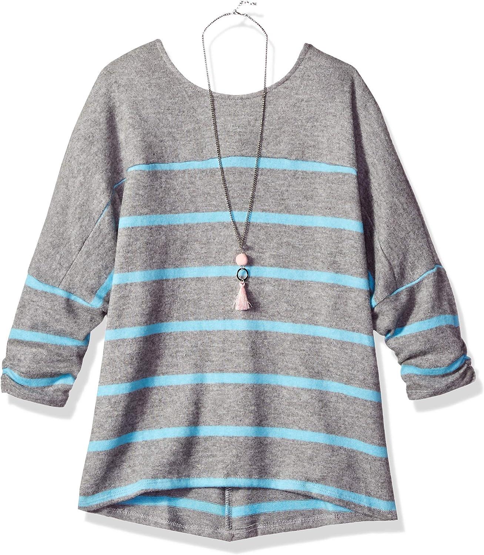 Amy Byer M/ädchen Dolman Sleeve Shirt Fashion Top Hemd